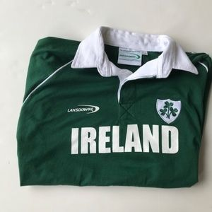 Landsdowne Green Ruby Polo Shirt Ireland NWOT